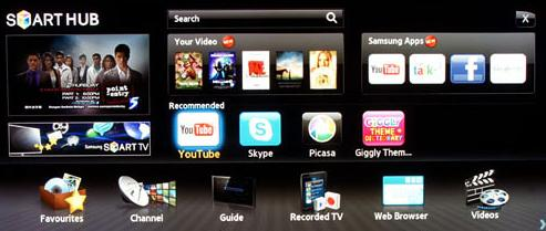 Samsung Smart TV Launched in India 2012