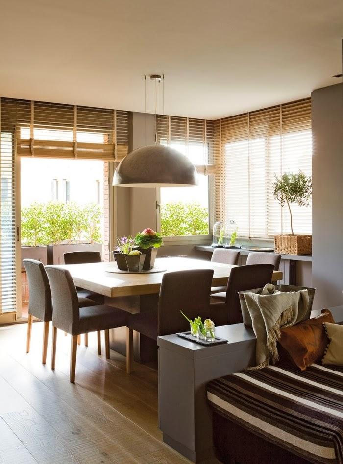 Minty inspirations wystr j wn trz dodatki i dekoracje do domu zdj cia inspiracje - Lampara de techo para comedor ...