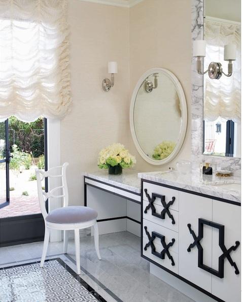 Old Hollywood Glamour Bathroom