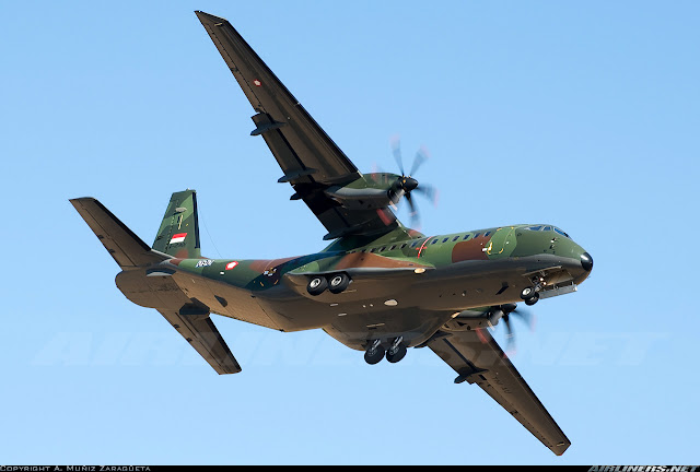Dua pesawat CN-295 Segera Diterima TNI AU Bulan Depan