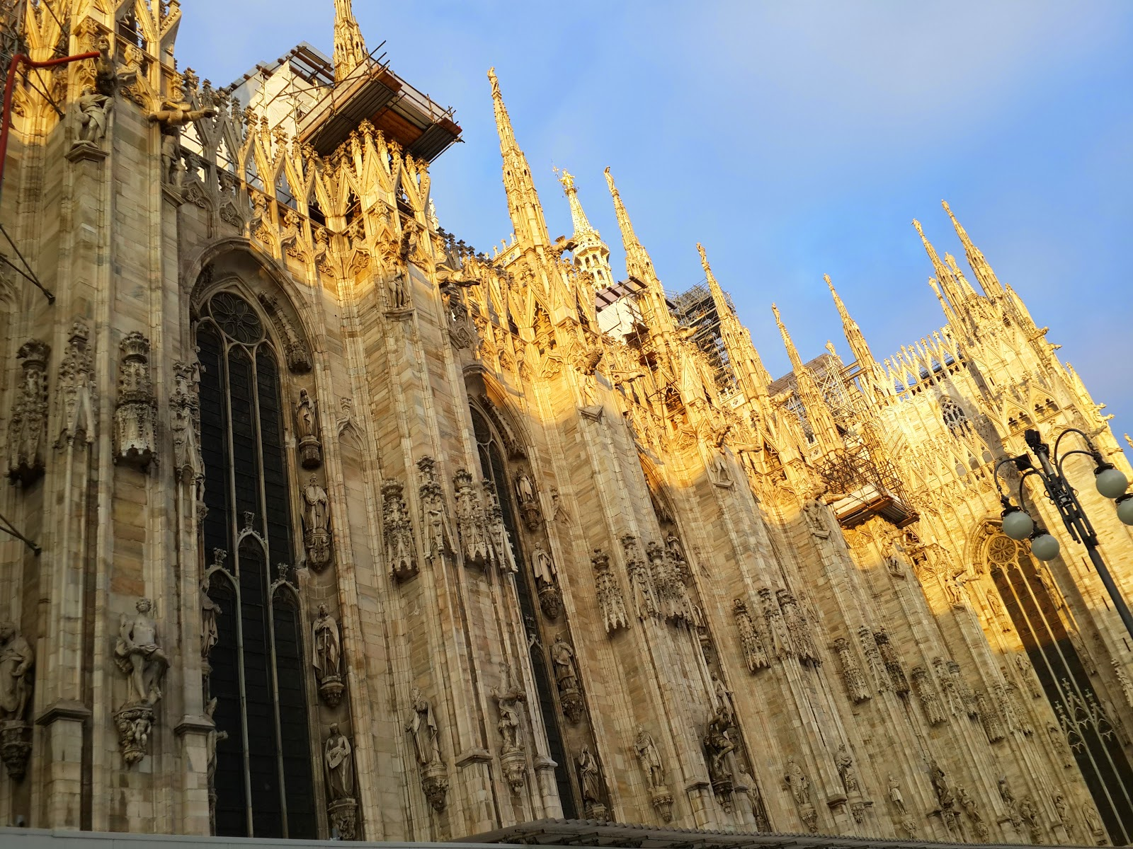 Duomo di Milano кафедральный собор в центре Милана