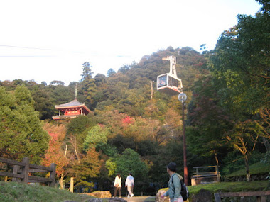 Gifu Park - in the sky and time to meditate