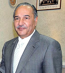 Pakistan Defense Minister Ch. Ahmad Mukhtar
