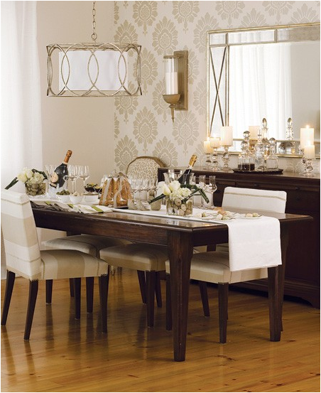 romantic dining room design ideas - Dining Room Design Ideas