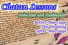Chatan Lessons: Prepare for Marriage and Beyond