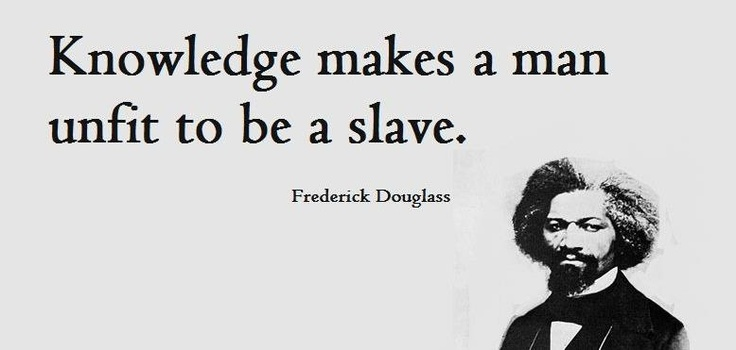 an analysis of frederick douglass life as a slave Frederick douglass's life narrative provides a look in on slavery by someone who was directly affected because many masters believed that teaching their slaves to.