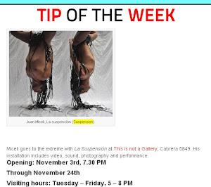 tip of the wekk