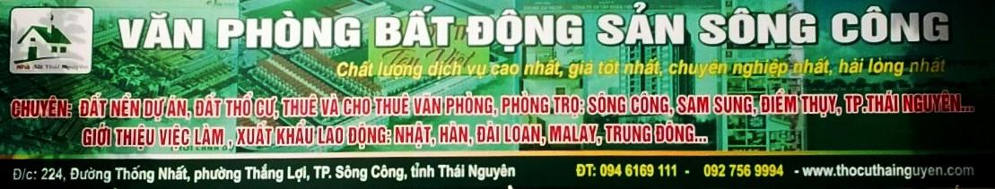 Nhà đất Thái Nguyên chất lượng dịch vụ cao nhất giá tốt nhất đem tới khách hàng sự hài lòng nhất