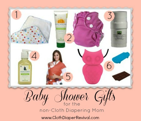diaper revival baby shower gifts for the non cloth diapering mom