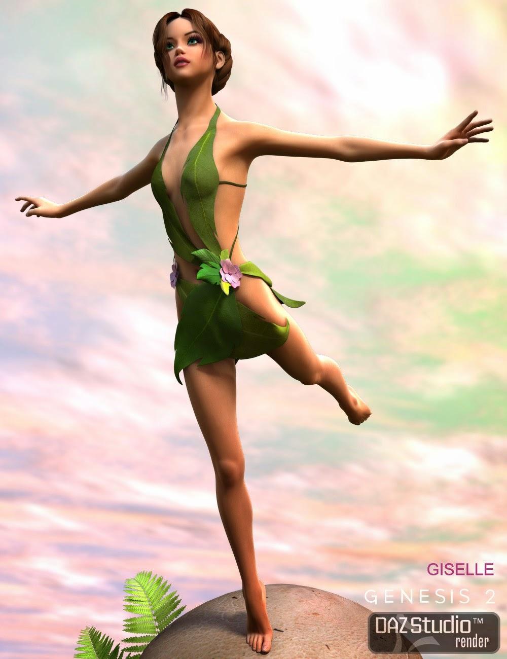 Flora Sprite pour Genesis 2 Femme