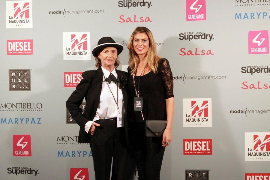 Vanessa Vasanta With Marie Ange Schmitt