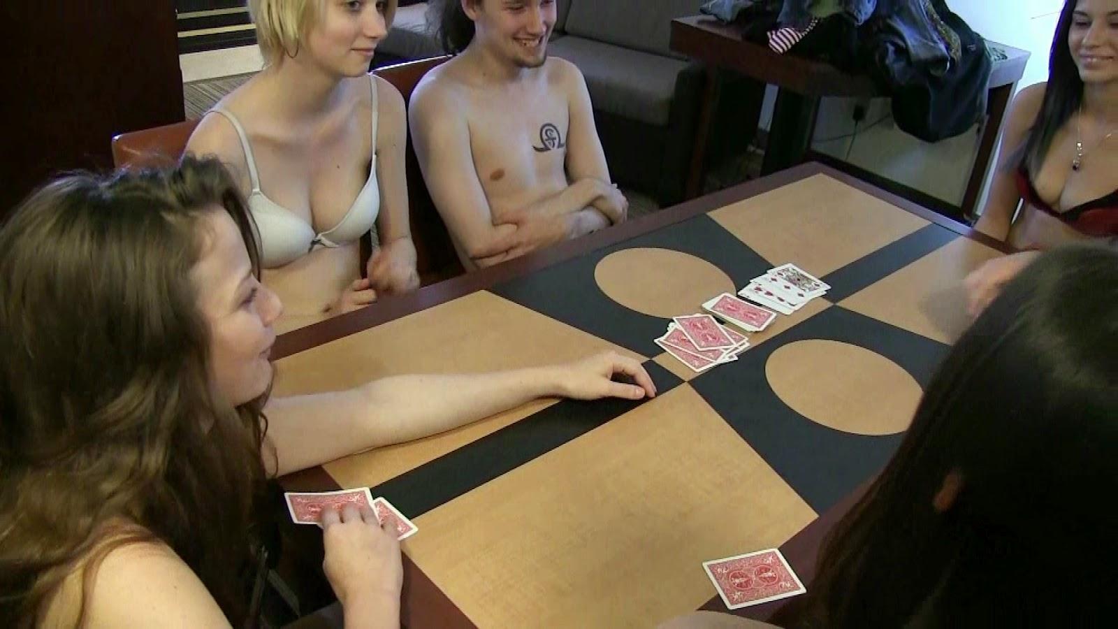 Nude strip poker stories