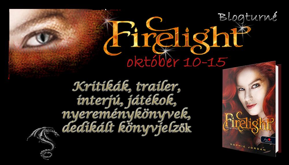 Blogturné ~ Sophie Jordan: Firelight – Tűzláng