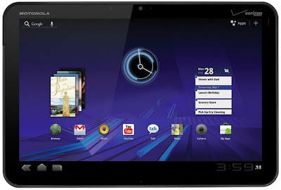 motorola xoom andriod apps