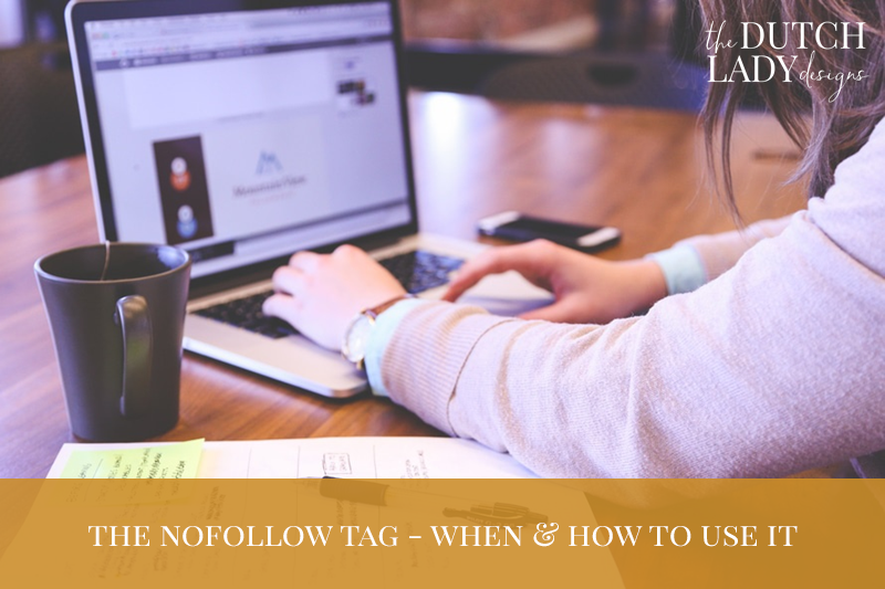 the nofollow tag