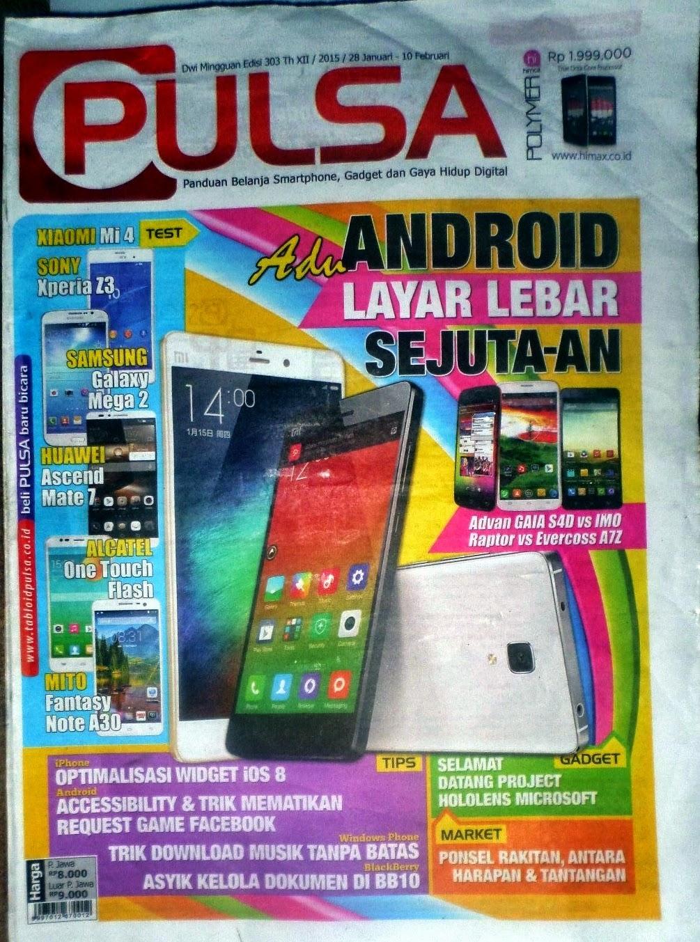 Download Epaper Tabloid Pulsa Edisi 303 Gratis