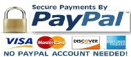 Safe and Secure Payments via Paypal