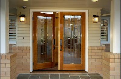Contoh Pintu Utama Rumah Minimalis Modern