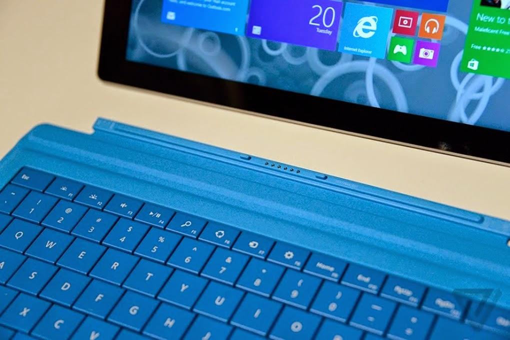 Nueva Surface Pro 3 teclado
