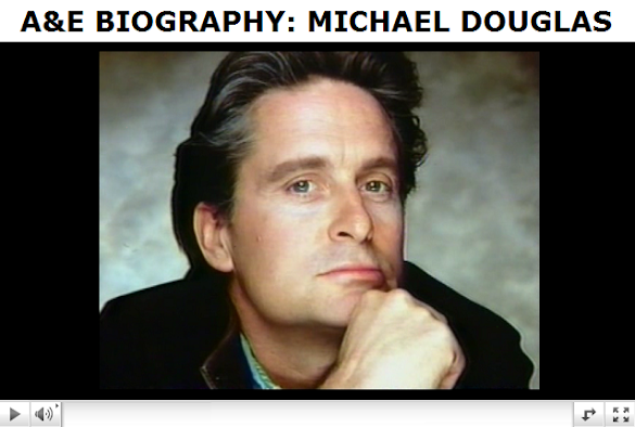 biography michael douglas. THE AMERICAN PRESIDENT .