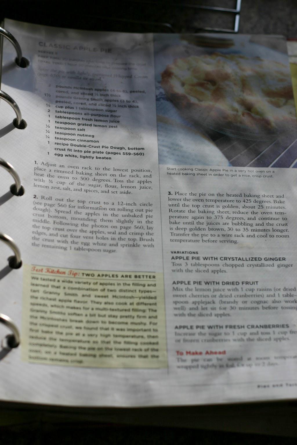 americas test kitchen apple pie - Americas Test Kitchen Apple Pie