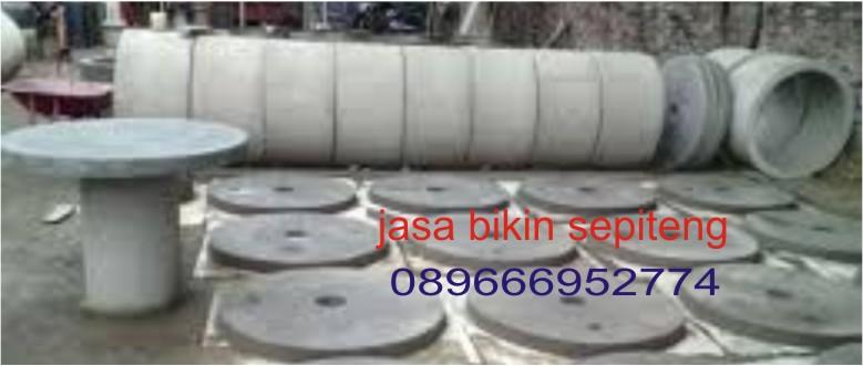 jasa pembuatan septic tank menggunakan kluwung semen cor tegal