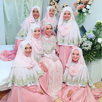 Model Baju Pengantin Muslimah Anak AA Gym