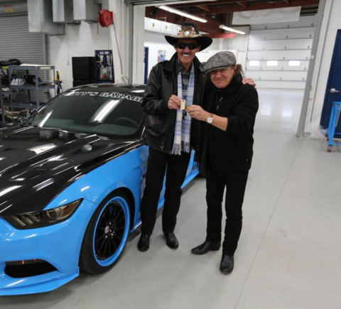 Ford Teams with Petty's Garage to Produce Limited-Edition Mustang GT