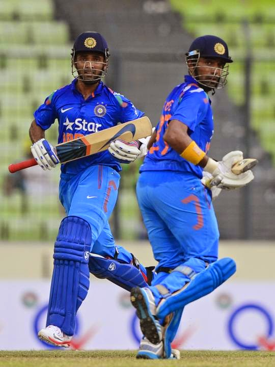 Ajinkya-Rahane-Robin-Uthappa-Bangladesh-vs-India-1st-ODI