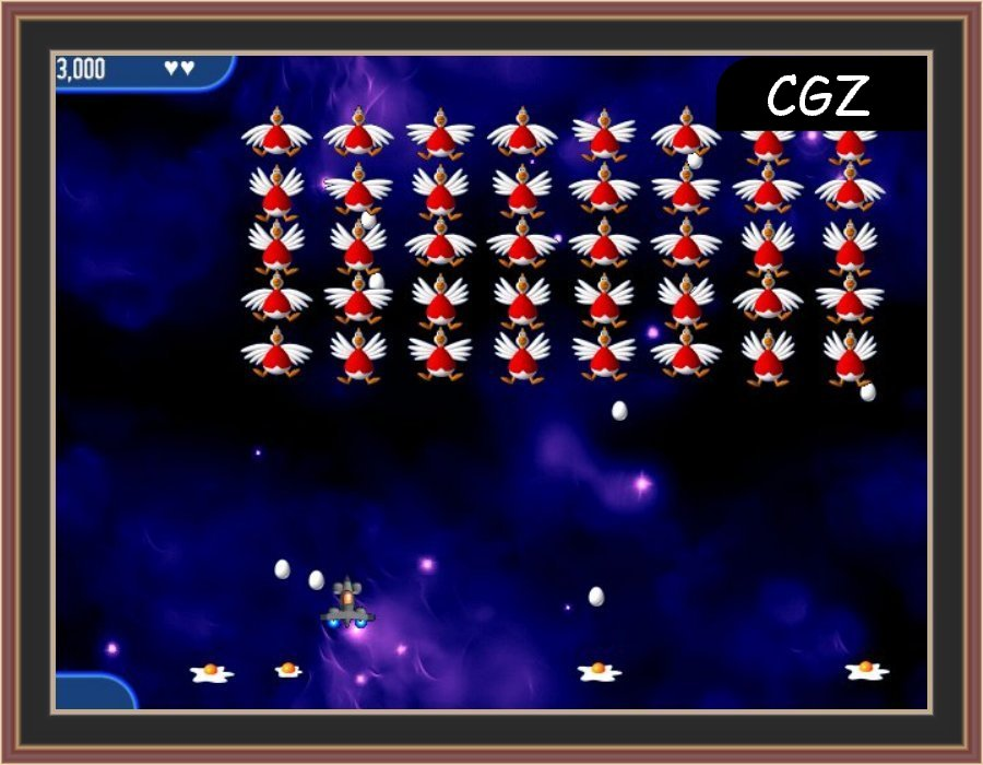 Chicken Invaders 2 The Next Wave Screenshot 1 BY Check Gaming Zone