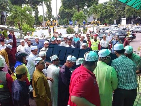 IZZAT TIM KETUA PAS Kedah Meninggal Semalam