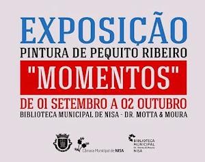 NISA: EXPOSIÇÃO DE PINTURA DE PEQUITO RIBEIRO