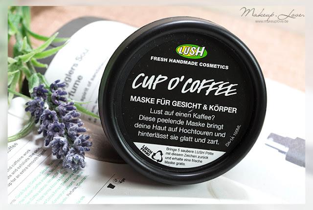 LUSH Neuheiten Herbst 2015 Cup o Coffee Gesichtsmaske