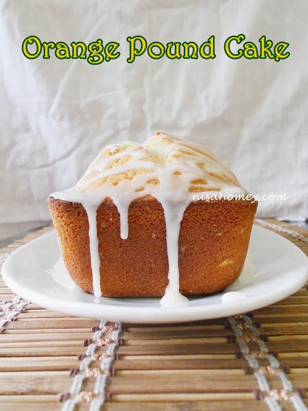 orange pound cake with orange syrup glaze orange pound cake with