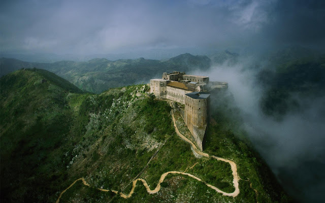 Citadelle Laferriere in Haiti