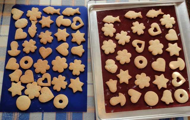 Как сделать домашнее печенье в формочках