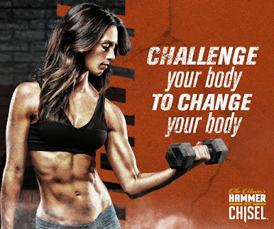 The Master's Hammer and Chisel is a leading fitness program where you can workout from home and get lean and sculpted through clean eating and strength, balance and agility training in just 60 days. Led by celebrity trainers Autumn Calabrese and Sagi Kalev, this program uses the same portion control meal planning system as 21 Day Fix. Join my online fitness and nutrition challenge group today. Brenda Ajay, beachbody coach.