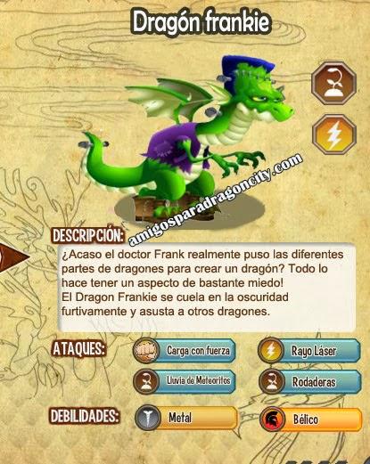 imagen de las caracteristicas del frankie dragon