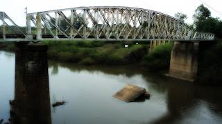 Ponte do Ibirapuitã, o Rio do Canto Alegretense