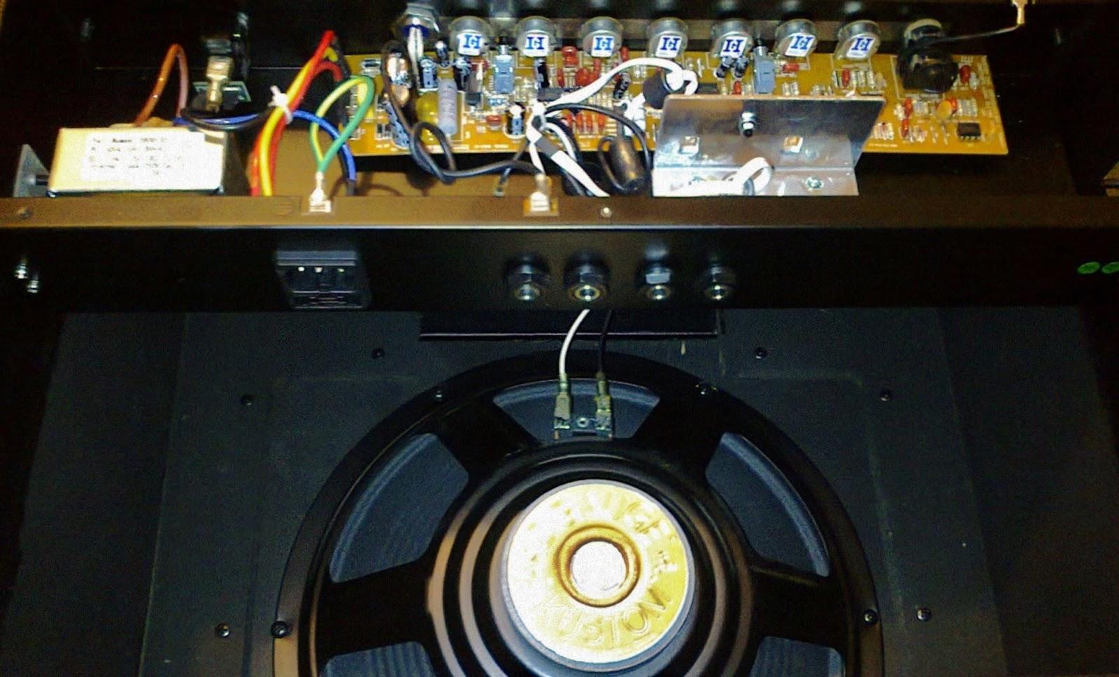 Kustom 12 Gauge amplifier mod! | Guitar Dreamer