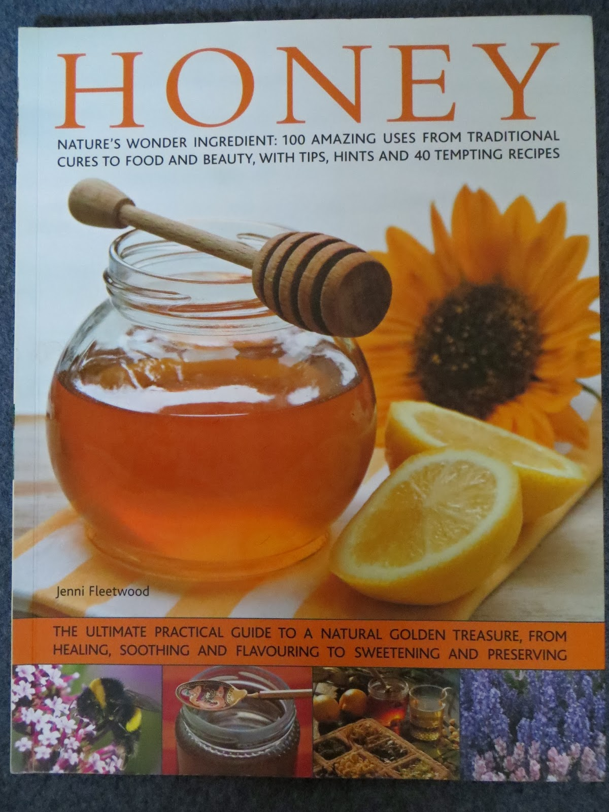 A book on honey and all it's uses.