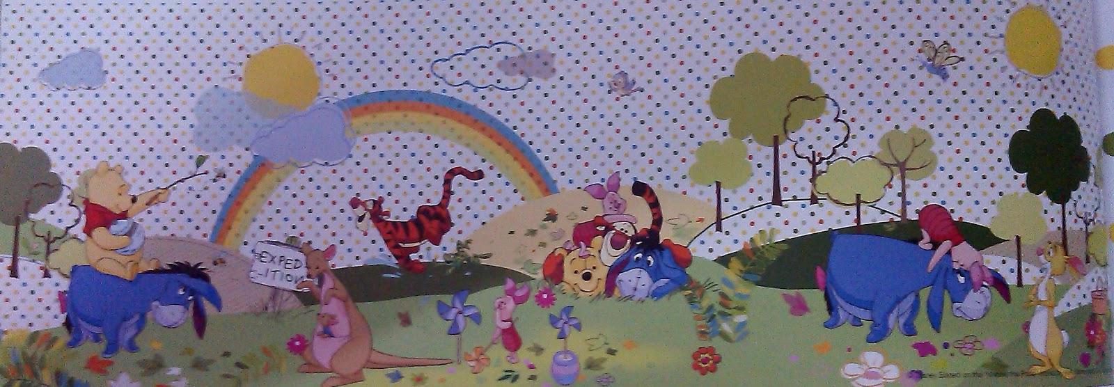 loveshine creations mural untuk bilik kanak kanak