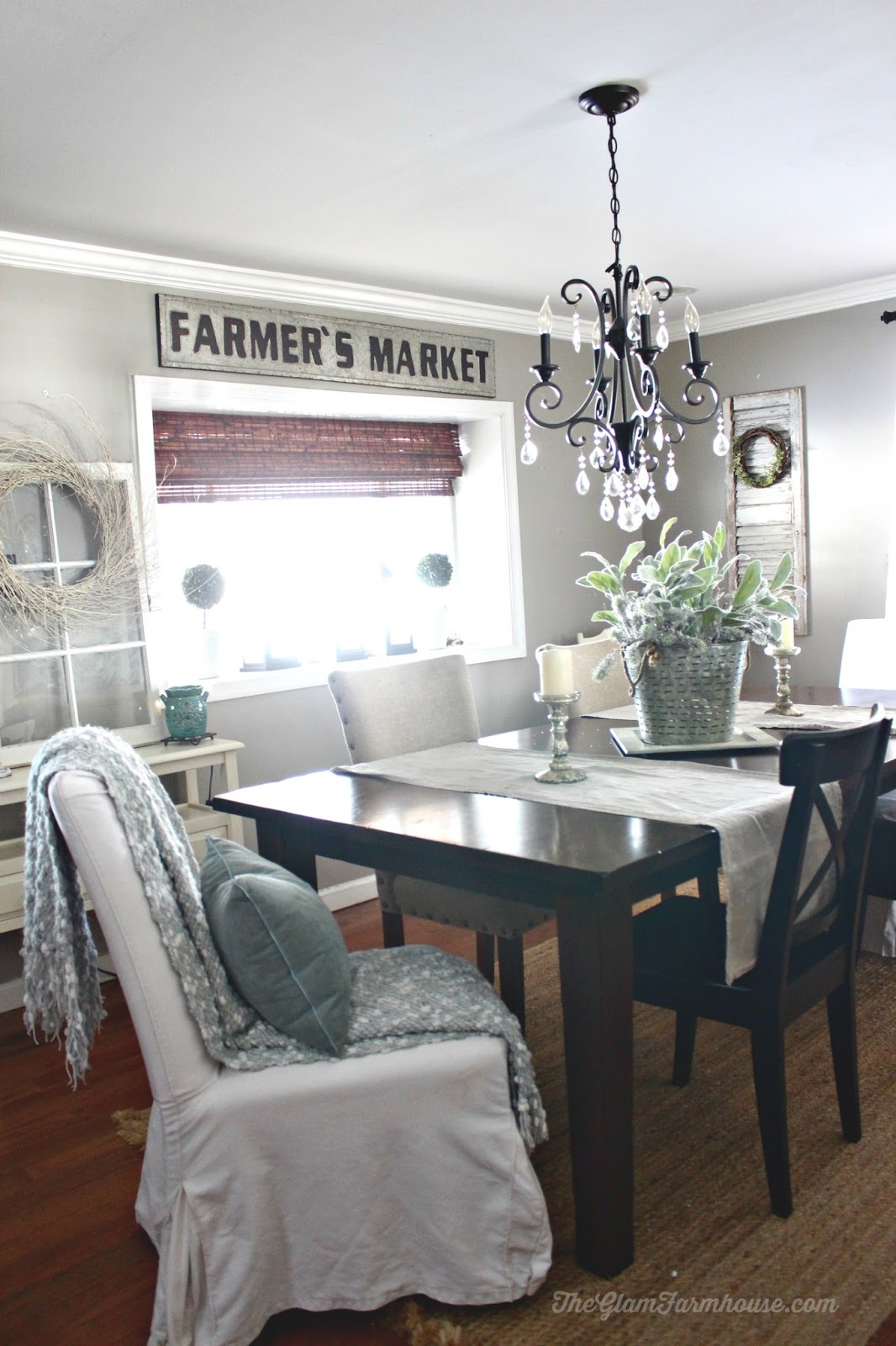 Rustic Glam Dining Room Tour with Before & Afters! - The Glam Farmhouse