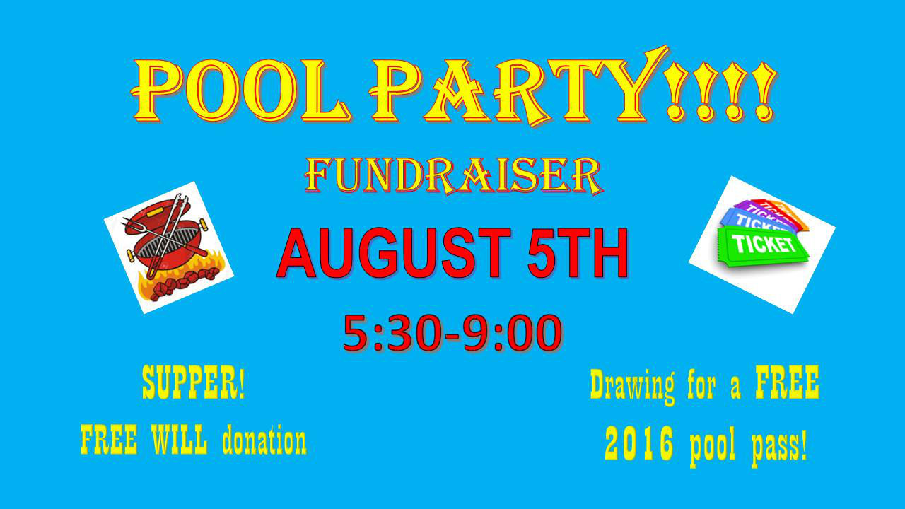 SUPPORT THE SWIMMING POOL