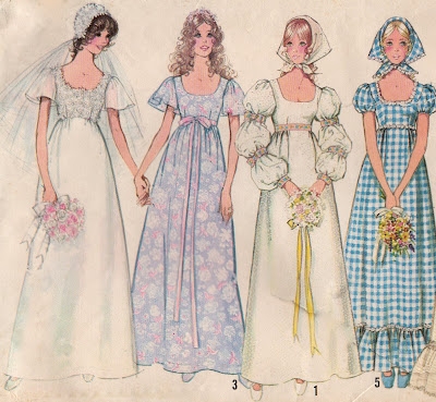 wedding dress patterns. vintage wedding dress patterns