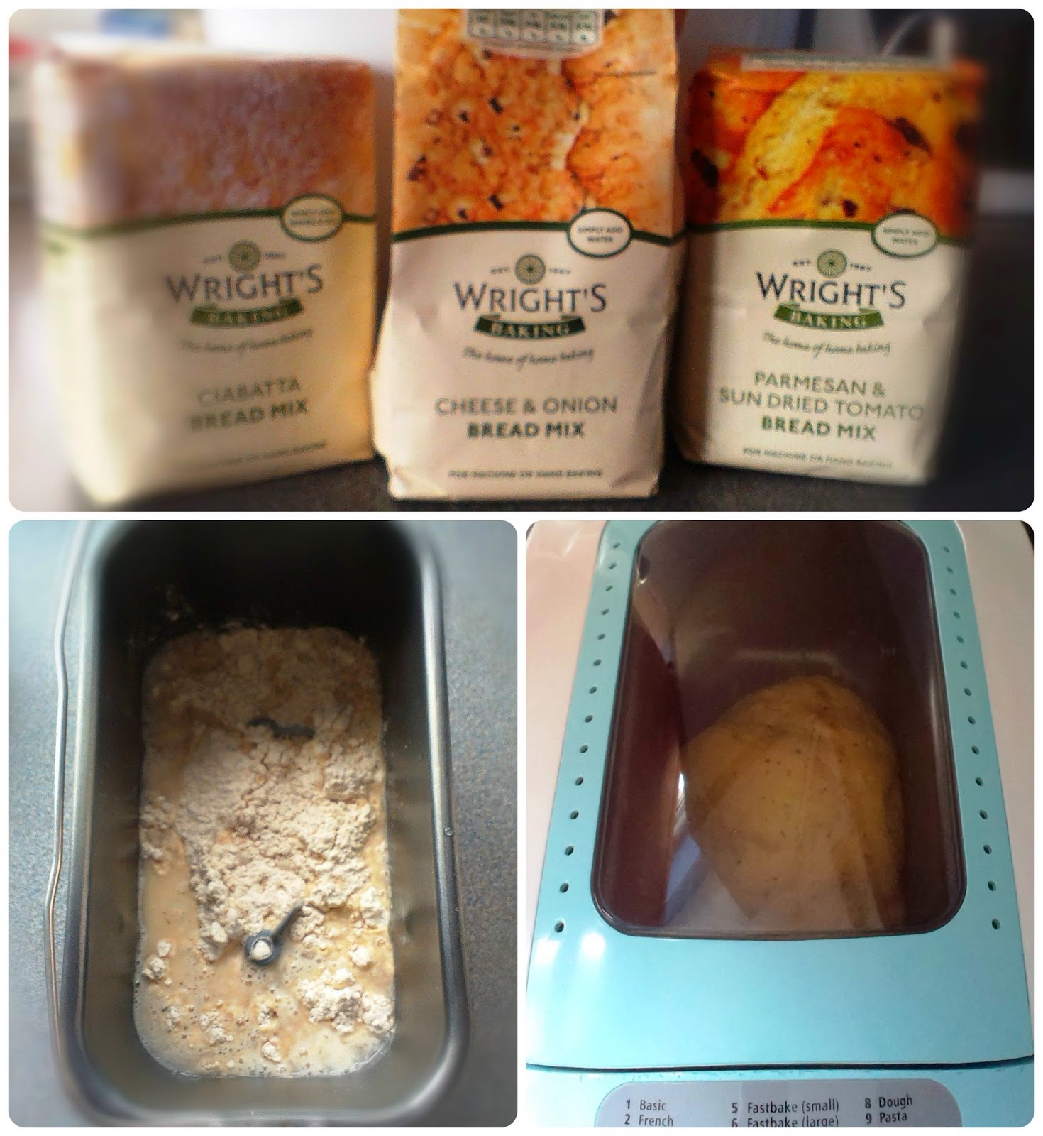 Breadmaker and bread mix packets