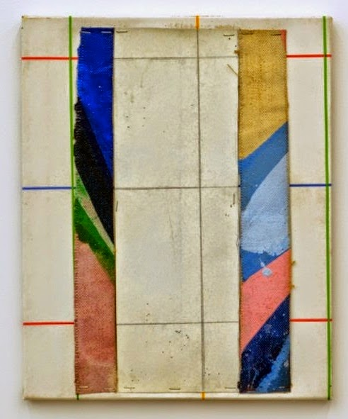 Pierre Buraglio, Untitled, 1983, mixed media 16 x 13 inches.