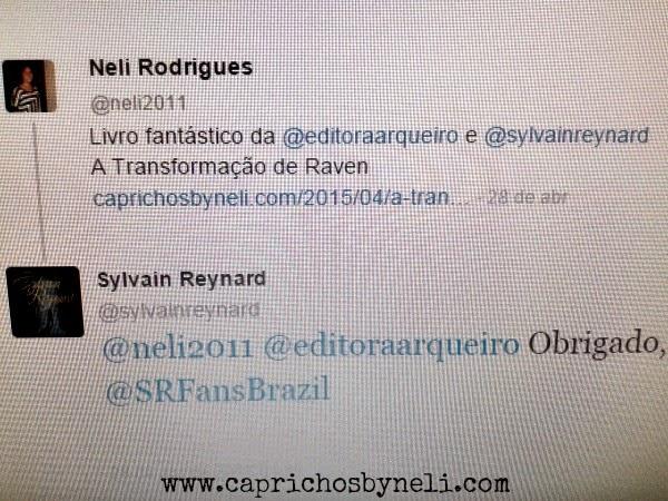 Sylvain Reynard, Editora Arqueiro, A Transformação de Raven