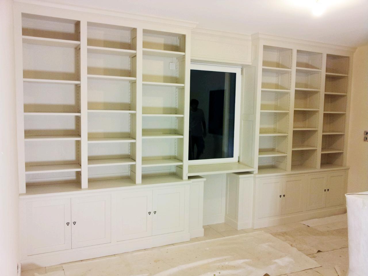 emmanuel sarazin conception fabrication d 39 une biblioth que en ch ne ou comment habiller le. Black Bedroom Furniture Sets. Home Design Ideas