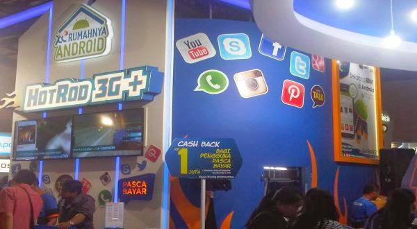 Paket Internet HotRod 3G+ Telah Hadir di BBM Android dan XL